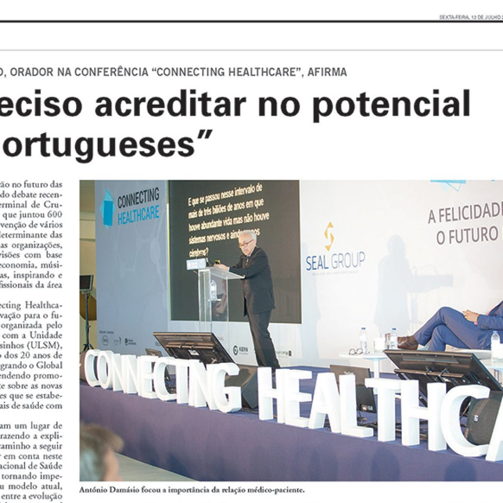 """CONNECTING HEALTHCARE"" – Vida Económica"