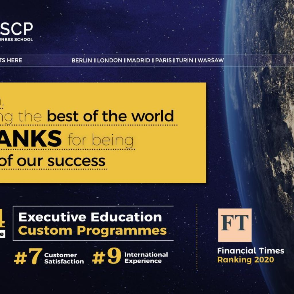ESCP Business School entre as melhores do mundo